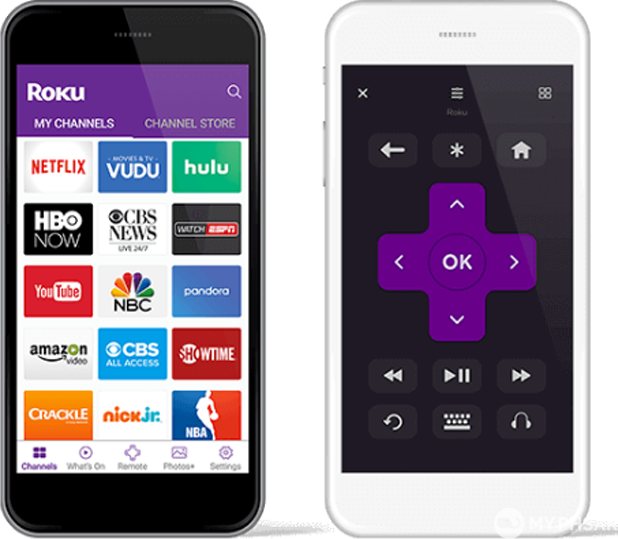 Roku Streaming Stick Portable, Power-Packed Player with Voice Remote